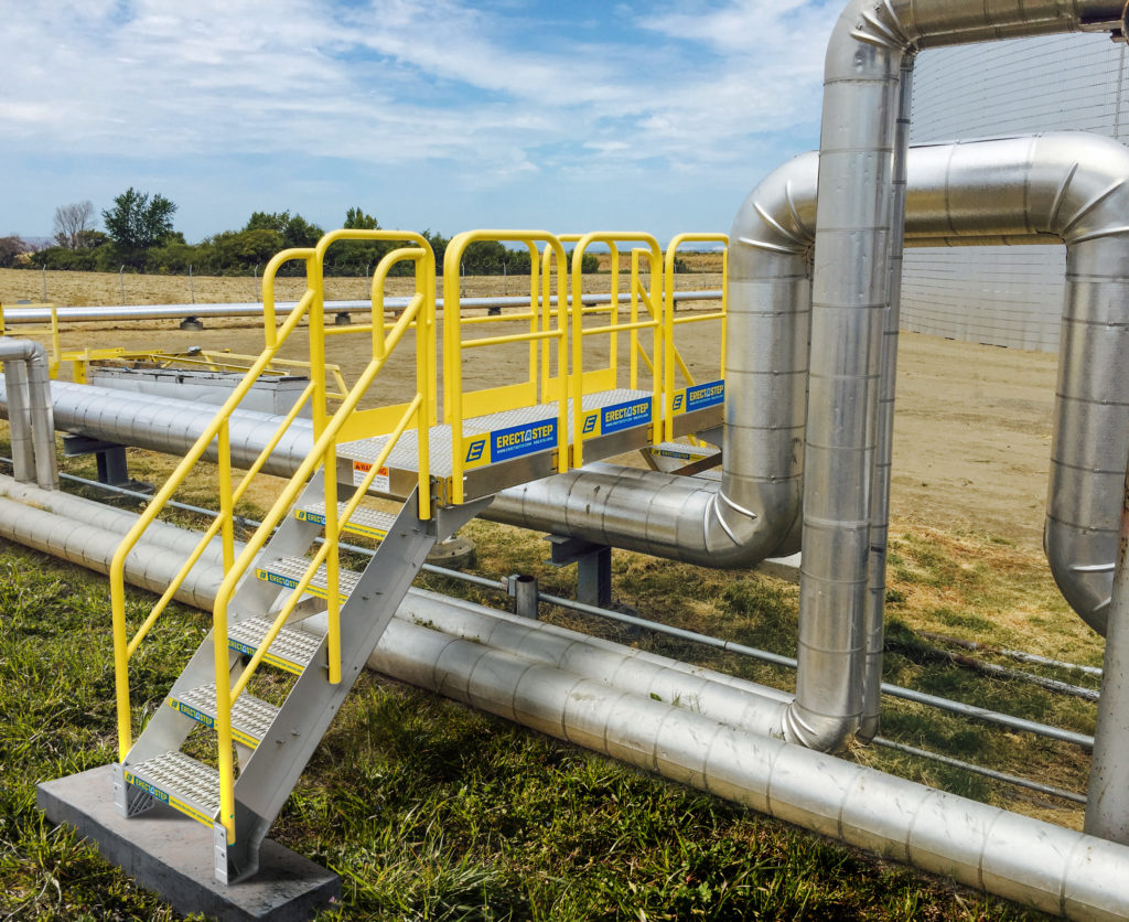 Erectastep NuStar Transfer Pipe Crossover