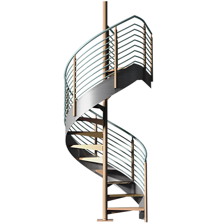 Architectural Stairs Prefabricated Designer Stairs Ready
