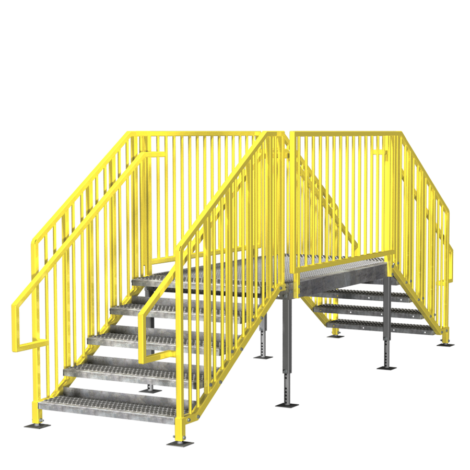 Portable Stairs Prefab Ibc Amp Osha Options In Stock