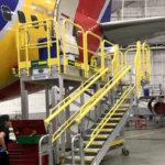 Aviation aft maintenance platforms -