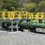 Crossover Platform for Propane Facility