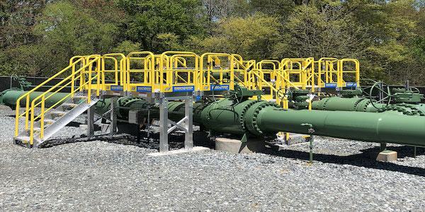 Crossover Platform for Propane Facility